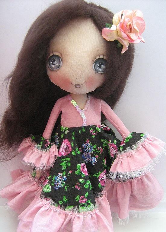 Scented dolls handmade.  Fair Masters - Handmade Little Gypsy Girl.  Handmade.