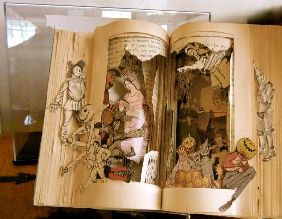 Altered Book Autopsy Your Not in Kansas by Raidersofthelostart, $400.00