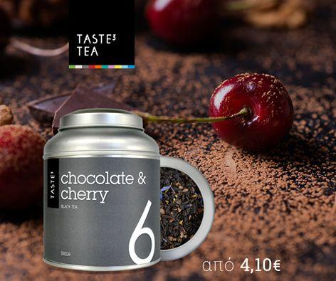 TASTE3 TEA Chocolate & Cherry