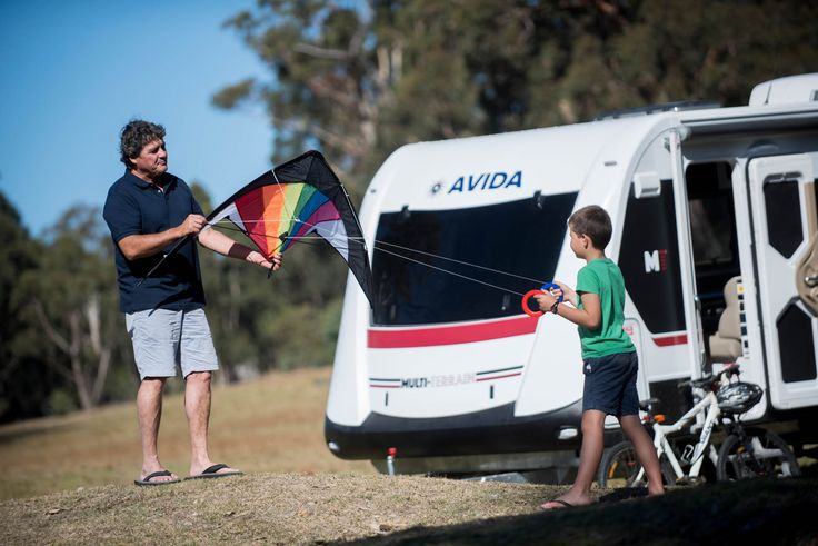 Do you remember when you went kite flying as a kid? Make it happen now with your Avida RV.