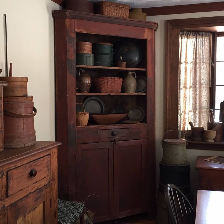 Corner Cabinet Dining Room Hutch: Our Dining Room. Anne Nichols Annetiques