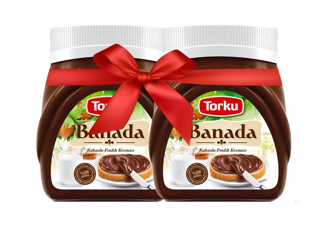 Torku Banada Kakaolu Fındık Kreması 400 gr 2.li Set ::14.99 TL