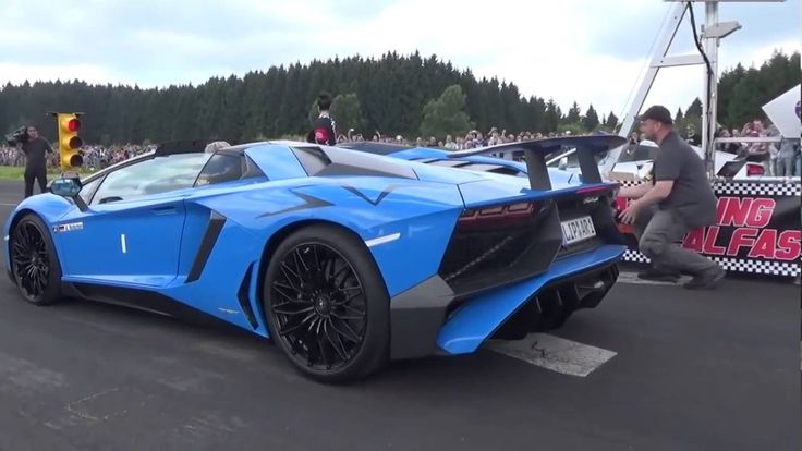 Who Wins In A Game Of Chicken Between A Lamborghini Aventador And A Cameraman? Watch To Find Out