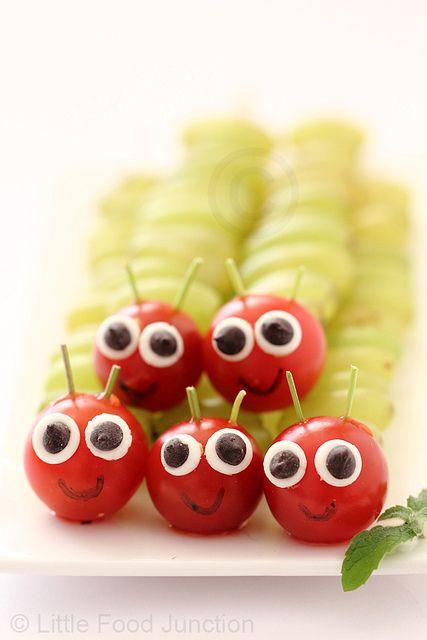 Caterpillars by Smita @ Little Food Junction, via Flickr