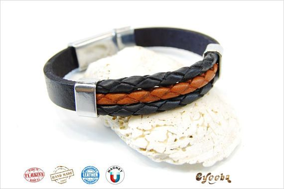 Hey, I found this really awesome Etsy listing at https://www.etsy.com/listing/571074651/leather-bracelet-men-mens-jewelry-women