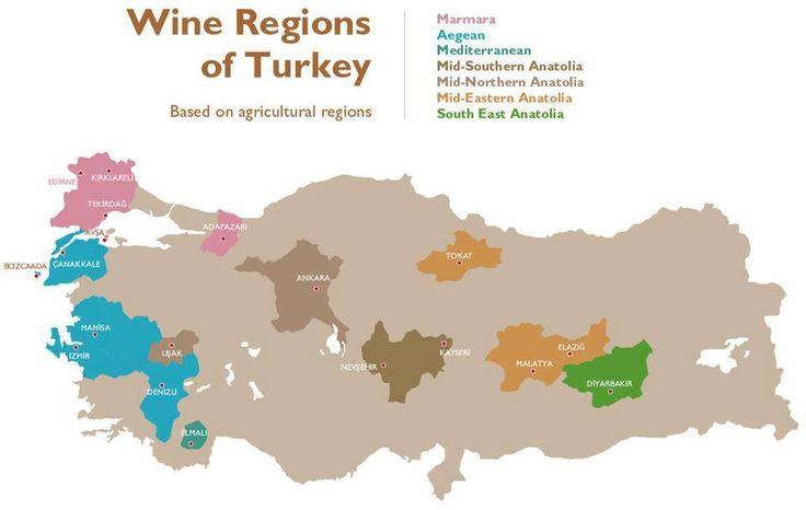 Turkey #WineMap