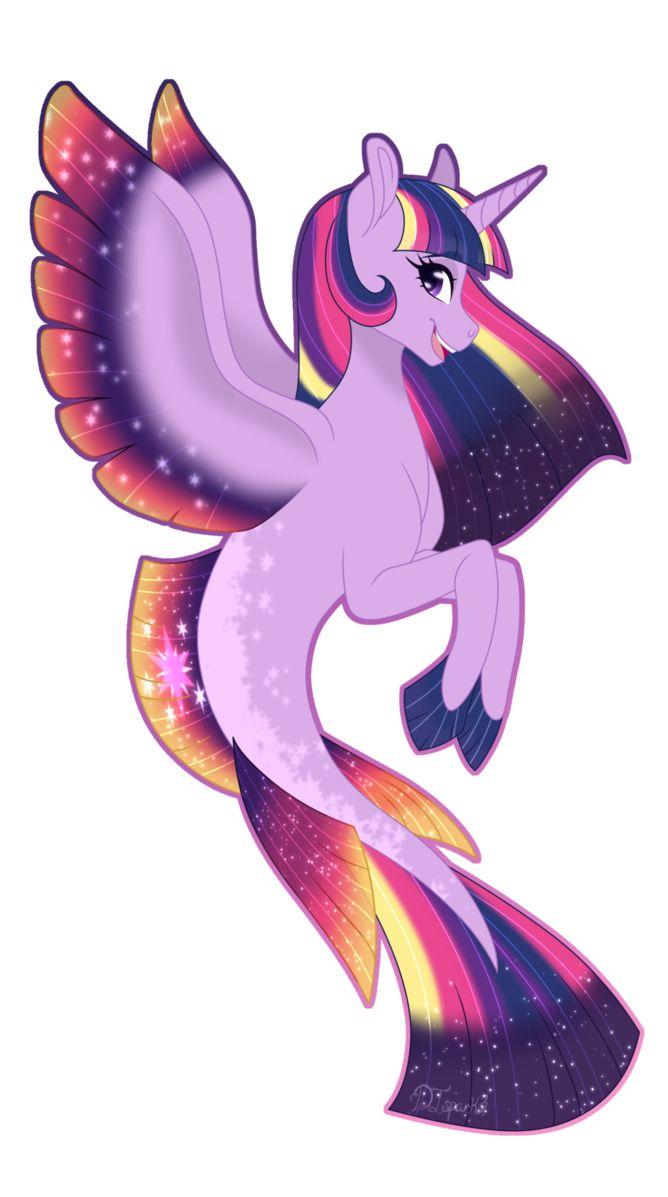 MLP: Princess Twilight Sparkle Seapony