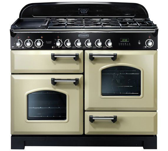 Buy Rangemaster Classic Deluxe 110cm Dual Fuel Cooker - Cream at Argos.co.uk - Your Online Shop for Range cookers, Cooking, Large kitchen appliances, Home and garden.