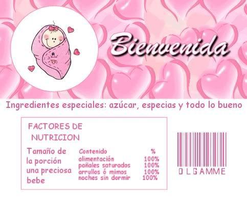 etiquetas para aguas de baby shower niño - Buscar con Google
