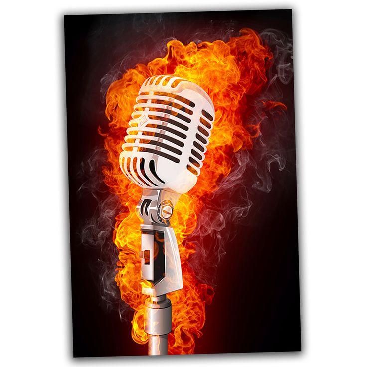 что рок микрофон картинки гиф