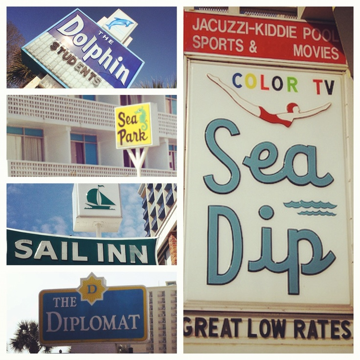 myrtle beach motels that are iconic of myrtle