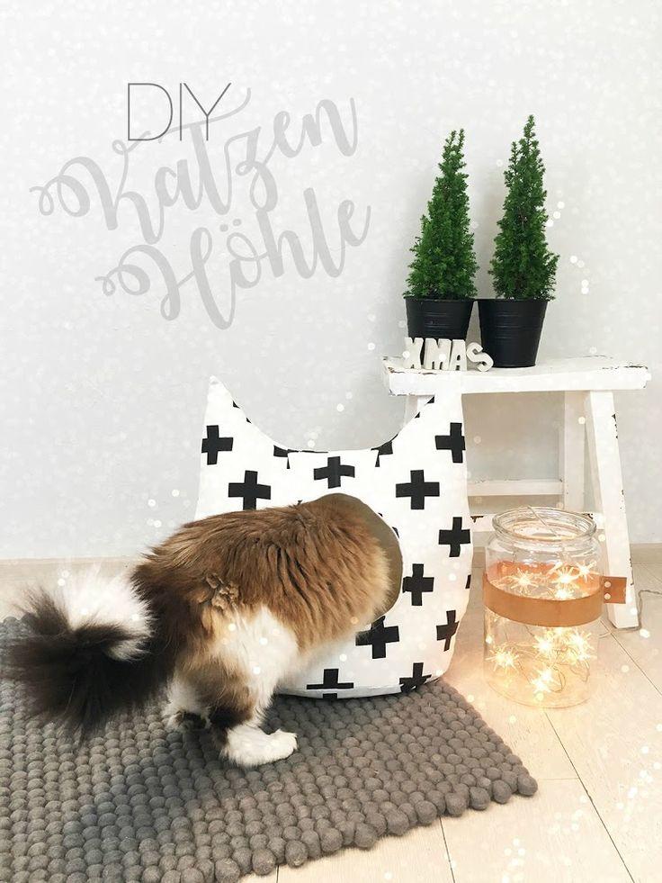 anlukaa glas+faden: DIY - Weihnachtsgeschenk für die Katz