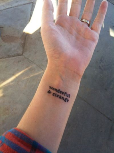 wonderful and strangeTattoo Placements, Design Tattoos, Tattoo Designs, Twin Peaks Tattoo, Strange Tattoo, Tattoo Patterns, Placement Tattoo, A Quotes, Pattern Tattoos