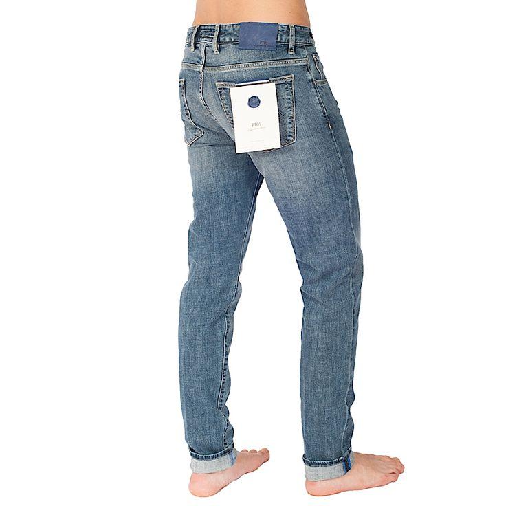 Pantaloni Jeans PT05 con tessuto, lavaggio e confezione made in Italy!!!