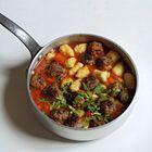 Een heerlijk recept:Zelf Gnocchi maken met gehaktballetjes en tomaten-paprikasaus