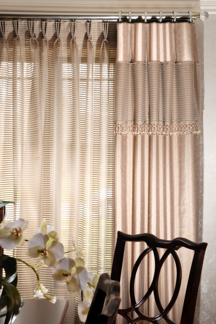 11 best images about window treatment ideas for small Contemporary drapes window treatments