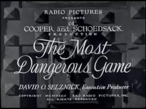 The Most Dangerous Game 1932 | FULL FILM | Pre-Code adaptation of the 1924 short story by Richard Connell. A big game hunter on an island hunts humans for sport. Starring Joel McCrea, Leslie Banks, King Kong leads Fay Wray + Robert Armstrong. Created by a team including Ernest B. Schoedsack + Merian C. Cooper, co-directors of King Kong (1933).