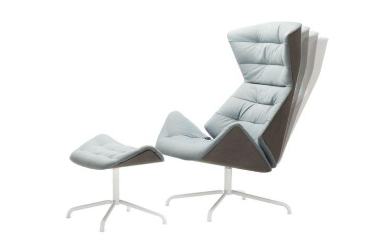 Lieblingsstück zum Abtauchen: der Lounge-Sessel 808 von Thonet - THONET-Möbel - Stühle, Tische, Sessel und Sofas, Design-Klassiker aus Bugholz und Stahlrohr