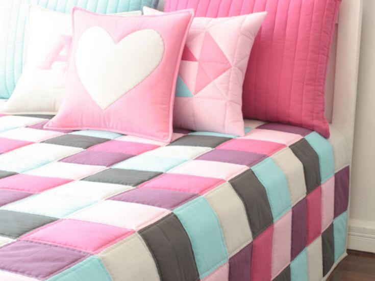 M s de 1000 ideas sobre ropa de cama para cuna en - Hacer una colcha de patchwork ...