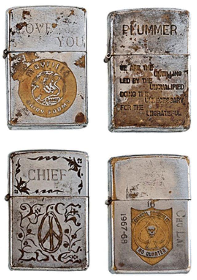 Soldiers' Engraved Lighters from the Vietnam War - Gallery | eBaum's World