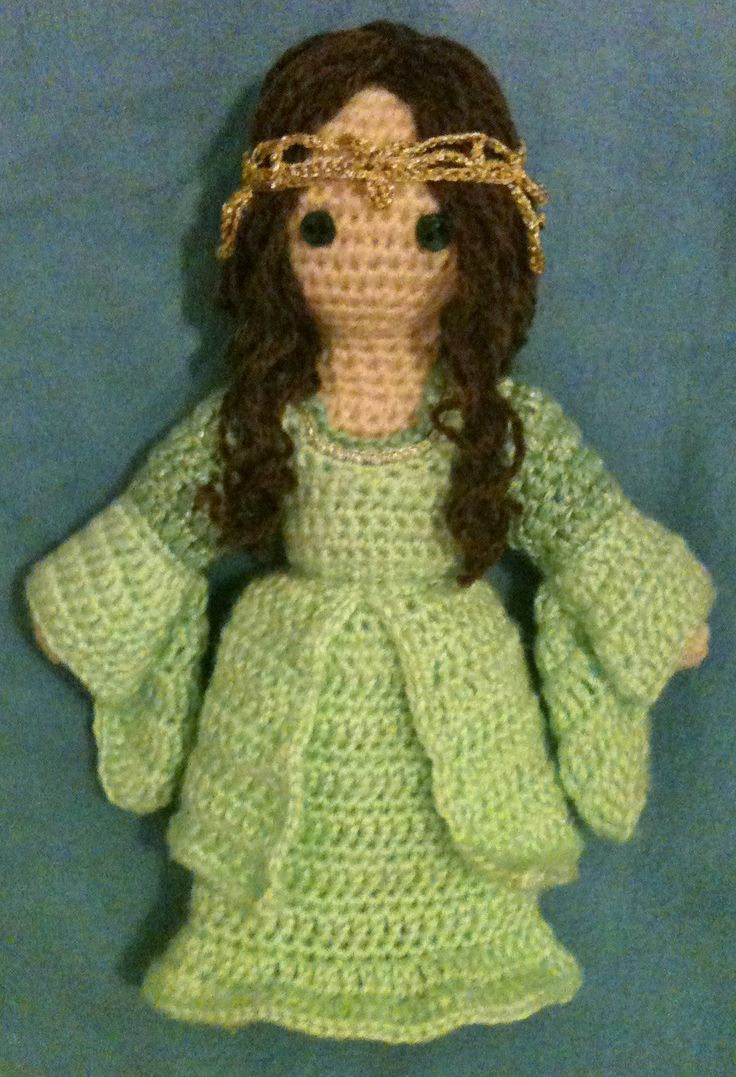 """Arwen, from """"Lord of the Rings"""" - amigurumi"""