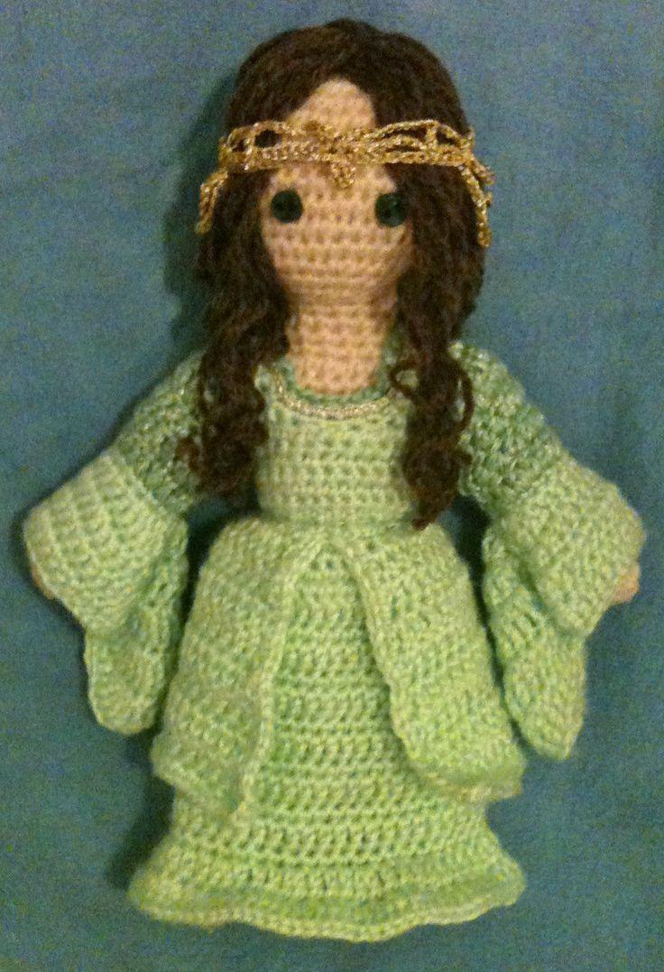 Crochet Amigurumi Ring : Arwen, from