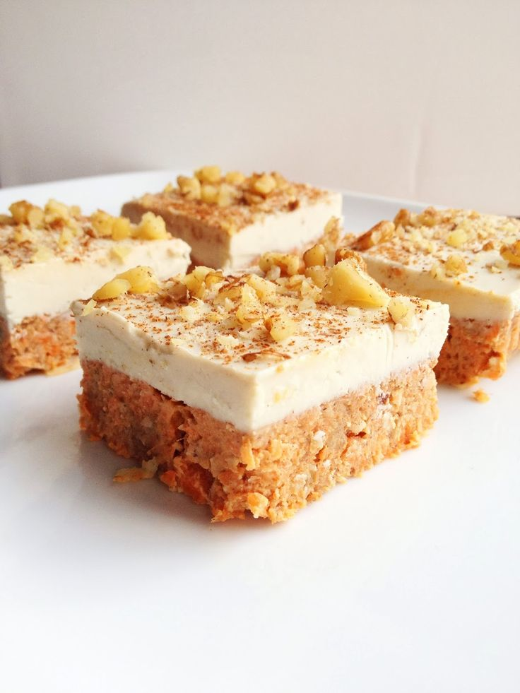 Raw Carrot Cake     ****Follow us for more great vegan recipes **** Save recipes from anywhere on your iPhone or iPad with @RecipeTin App – without typing them in! Find out more here: www.recipetinapp.com ****  #vegan #recipes #cake