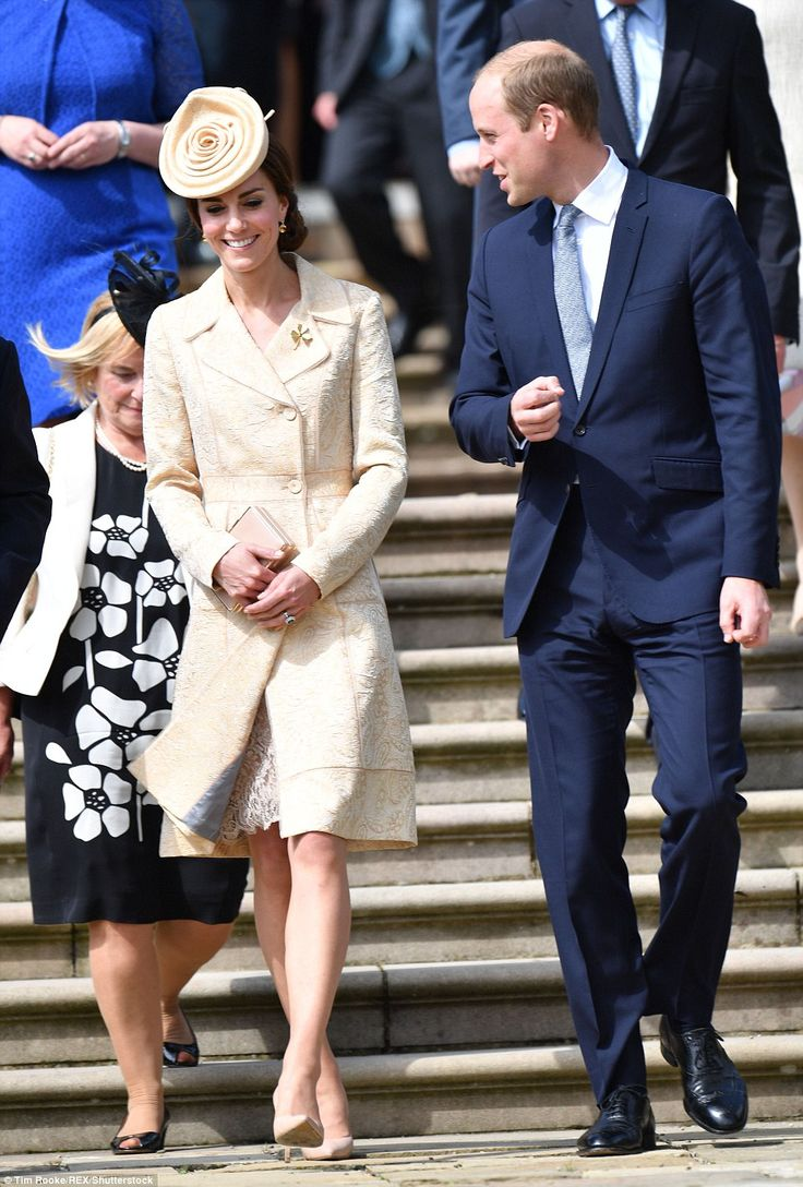 The Duke and Duchess of Cambridge joined dignitaries at the annual garden party held at Hi...