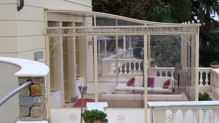 veranda in lexan Sanremo