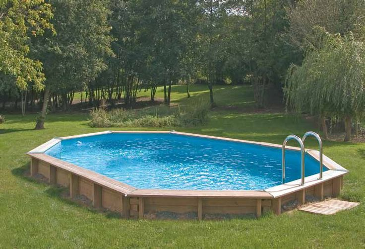 Image detail for semi above ground pool backyard pond Backyard swimming pools above ground