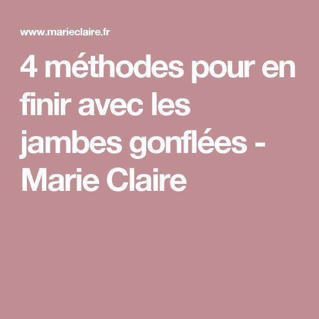 4 méthodes pour en finir avec les jambes gonflées - Marie Claire