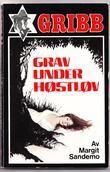 """""""Grav under høstløv Gribb-serien 34"""" av Margit Sandemo"""