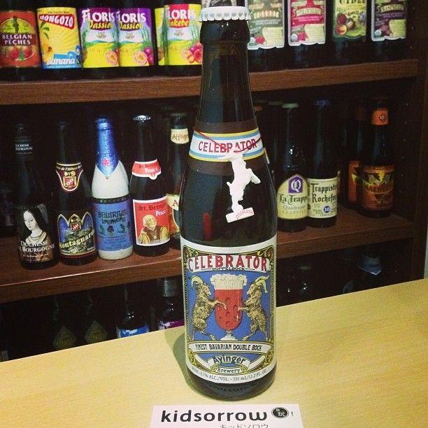 雙羚羊啤酒│Ayinger Celebrator Doppelbock  極少量的季節限定啤酒,德國傳統慶典時喝的啤酒,經半年以上的陳釀才裝瓶。 滑順的口感與濃純的碳烤咖啡香氣無比迷人。  #craftbeer #kidsorrow