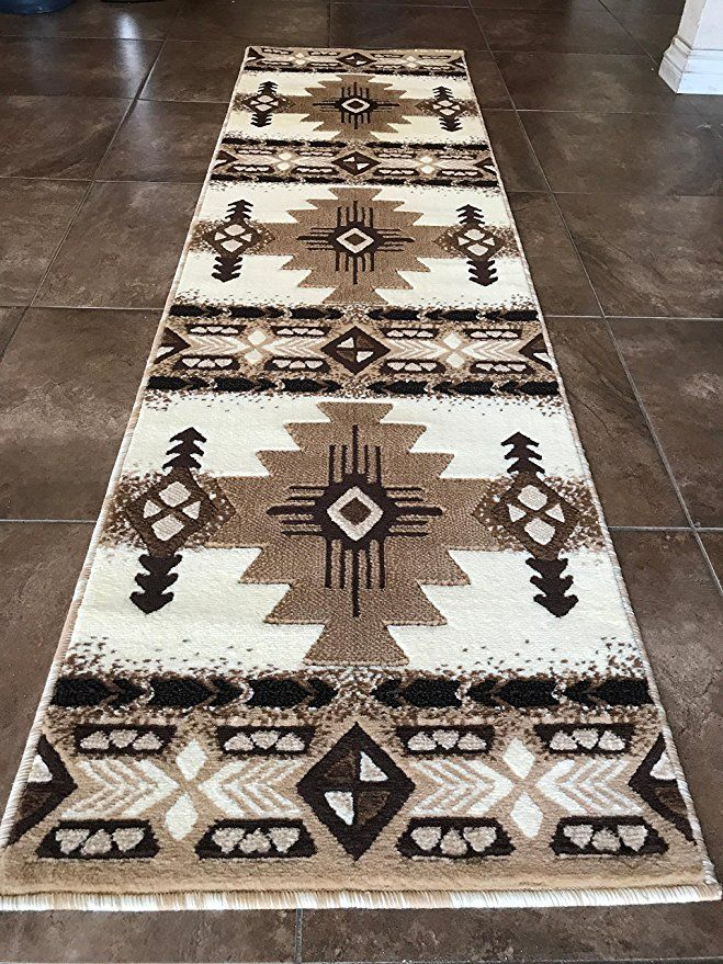 Southwest Native American Runner Area Rug Indian Ivory Concord Design C318 2 Feet X 7 Feet Af Native American Rugs Native American Decor Southwest Area Rugs