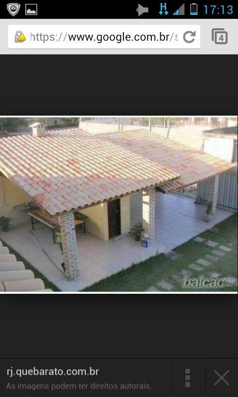 Cobertura garagem