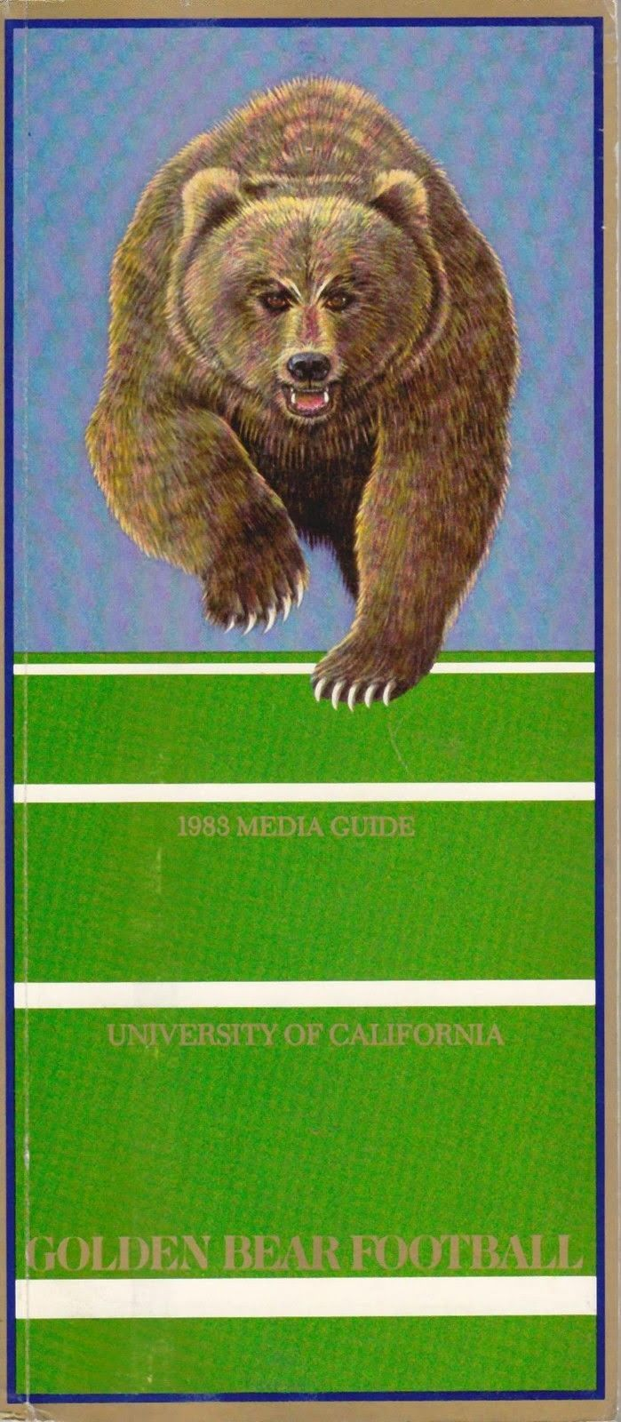 Cal Bear Football Grizzly Media Guide   Bear Flag Museum