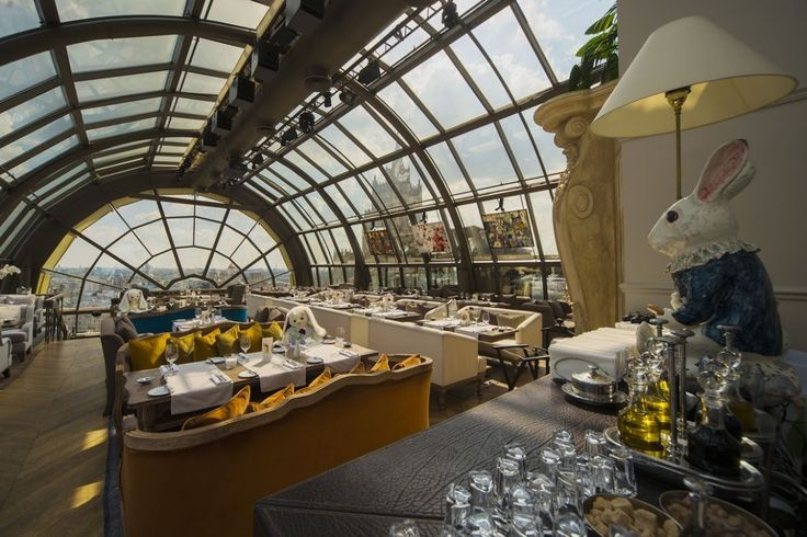 White Rabbit, Moscow A domed glass ceiling provides patrons with spectacular views and excellent ambience.
