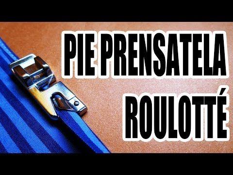 5) PIE PRENSATELA DOBLADILLO ANGOSOTO ó Roulotté