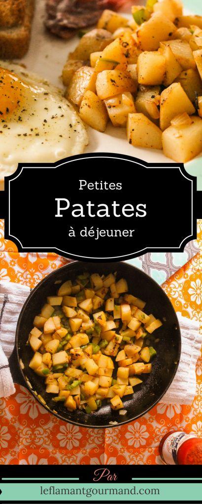 Petites patates à déjeuner (ou comment passer des pommes de terre cuites) | Le flamant gourmand