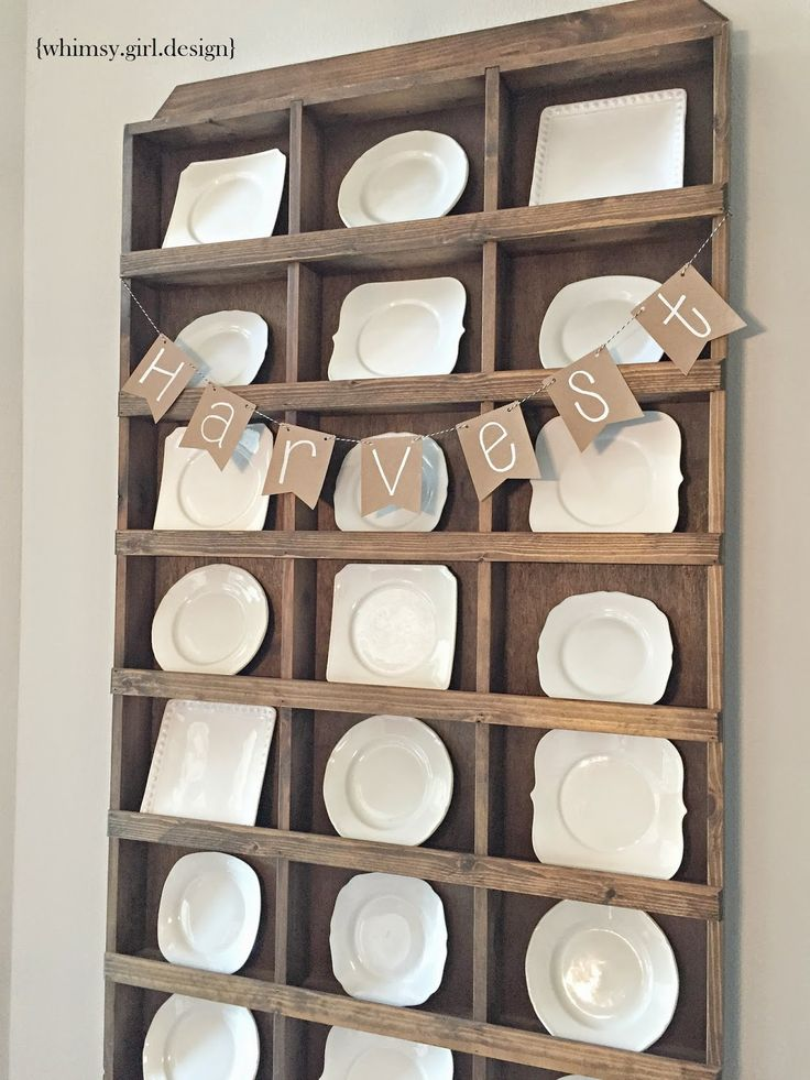 Awesome wall mounted plate display rack #cnc #plateracks cnc.gallery/ & 17 best Plate Rack Ideas images on Pinterest | Dish racks Plate ...