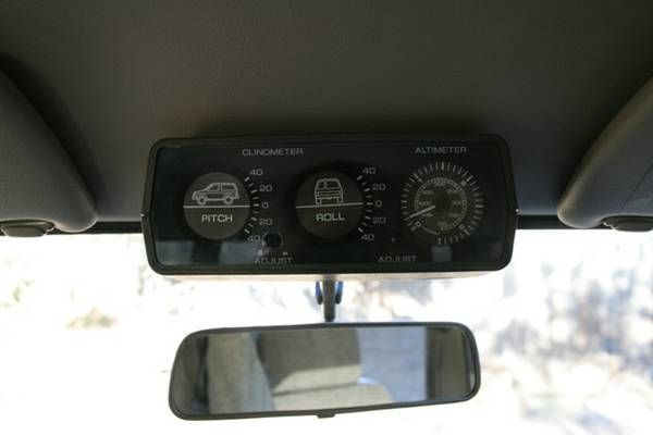 1988 Nissan Safari Quot Granroad Quot Y60 Clinometer And