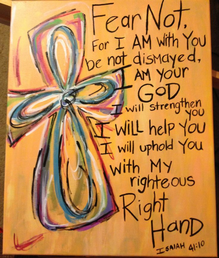 BIBLE verse painting-love the way they did the cross, but will do a different BIBLE verse...
