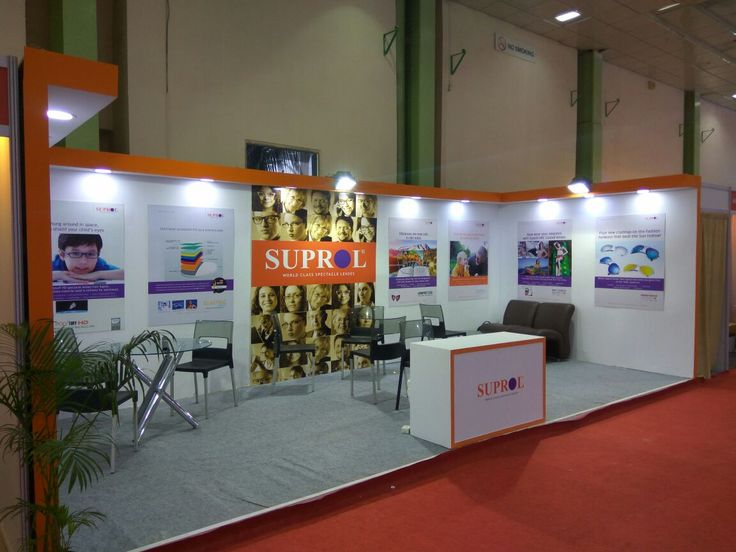 SUPROL World Class Spectacles Lens- Exhibition Stall at Chennai Trade Center event of India International Optical & Ophthalmology Expo on 15.10.2016  designed and fabricated by BCC Markom