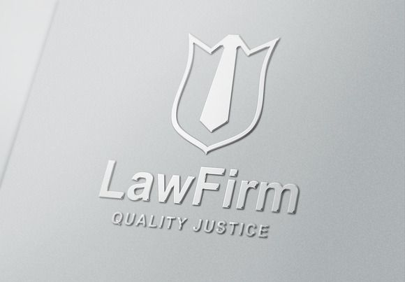 Law Logo Template by nazdrag on Creative Market