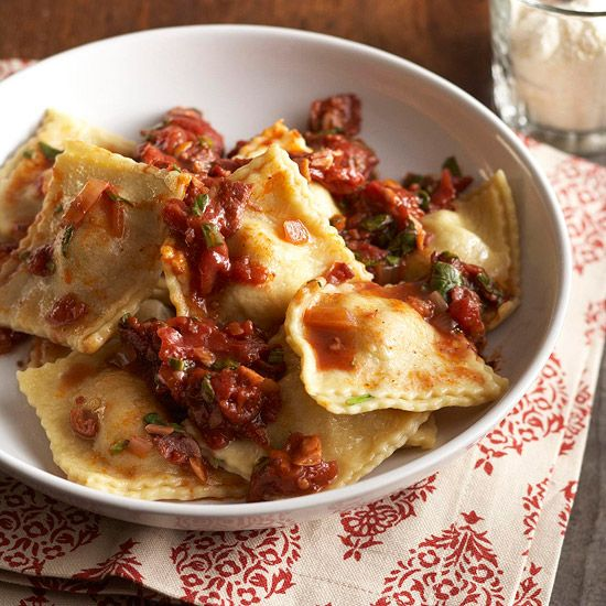 Find the perfect combination of ravioli fillings and sauces for your family!