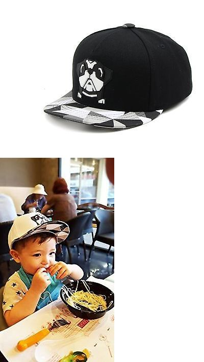 Hats 57884: Steelo Infant And Toddler Cute Bulldog And Dragon Snapback Flat Brim Hats Black -> BUY IT NOW ONLY: $30.99 on eBay!