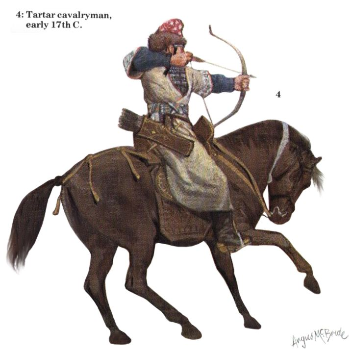 Tatar cavalryman, early 17th century