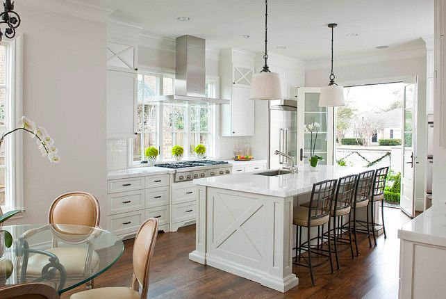 Crisp White Kitchen Crisp White Kitchen #WhiteKitchen