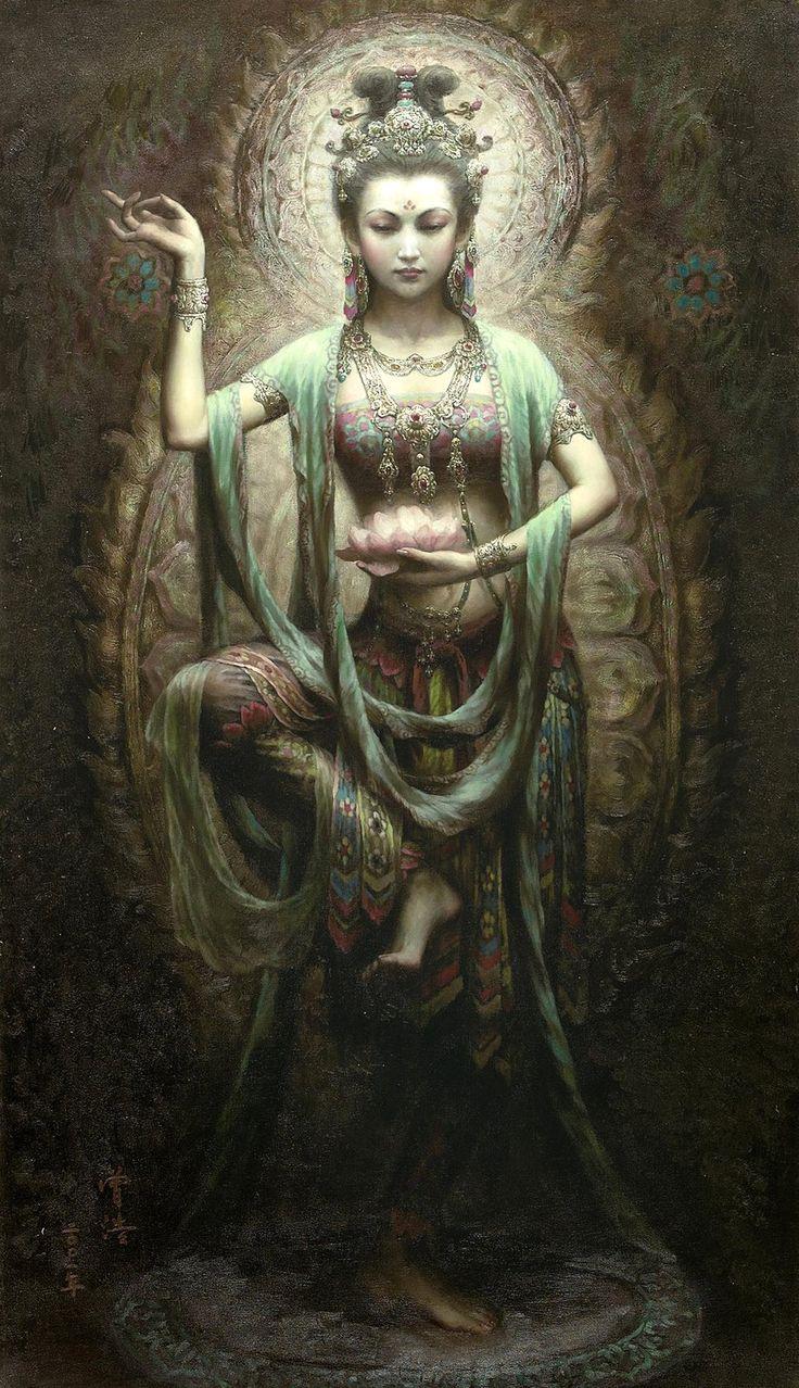 Kwan Yin, Goddess of compassion. Can I afford myself the same amount of compassion I afford others?