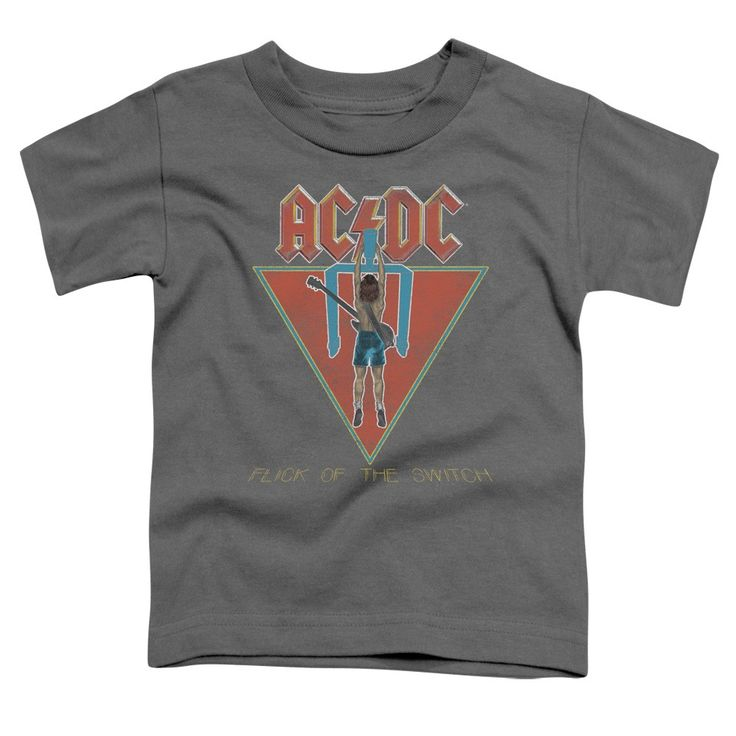 """Checkout our #LicensedGear products FREE SHIPPING + 10% OFF Coupon Code """"Official"""" Acdc / Flick Of The Switch-short Sleeve Toddler Tee(2t) - Acdc / Flick Of The Switch-short Sleeve Toddler Tee(2t) - Price: $29.99. Buy now at https://officiallylicensedgear.com/acdc-flick-of-the-switch-short-sleeve-toddler-tee-2t"""